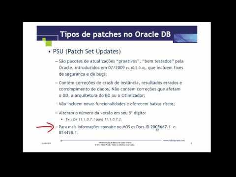 Atualizando patches no Oracle Database