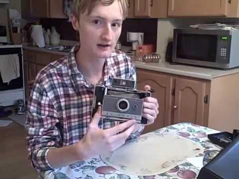 Using Your Polaroid Land Camera