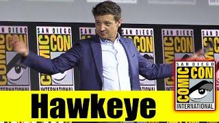 HAWKEYE | 2019 Comic Con Panel (Jeremy Renner)