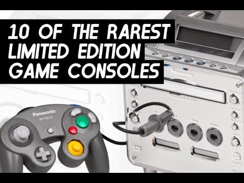 Top 10 Rarest Limited Edition Game Consoles | Most Expensive Systems