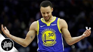 Steph Curry says 'hell nah' to the idea of load management   BS or Real Talk   The Jump