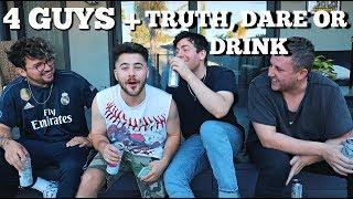 4 HOT GUYS PLAY TRUTH, DARE OR CHUG