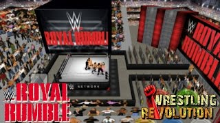 2017 Royal Rumble Match - Wrestling Revolution 3D (Simulation)