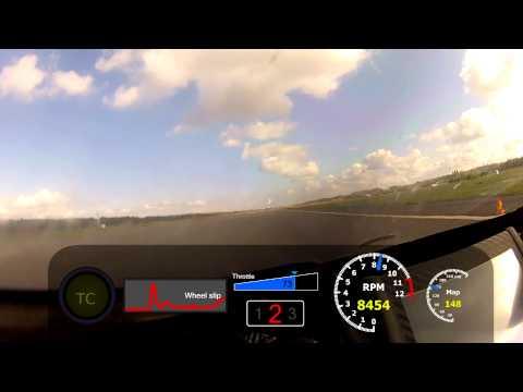 412.5 KPH - Any10 Kawasaakeli (ZX-14) Top Speed run @ Lappeenranta