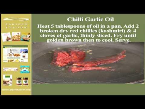 Chilli Garlic Oil