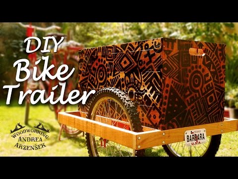 Making a Bicycle Trailer