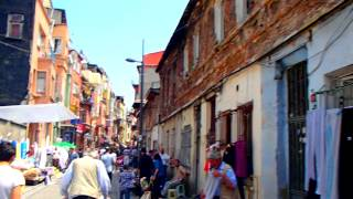 Турция Стамбул Бедный Район 3 июня 2012 Turkey Istanbul