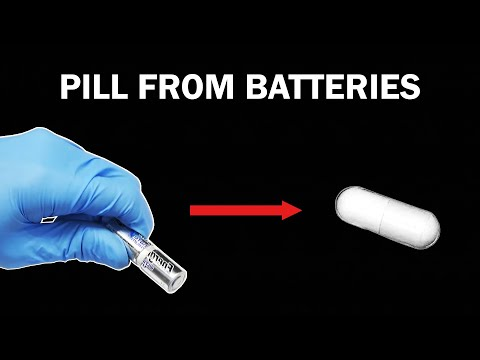 Making a Bipolar Disorder Medication from Batteries
