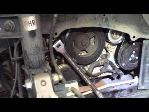 2010 nissan murano serpentine belt