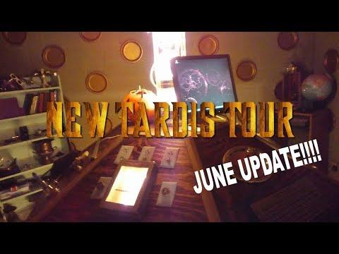 TARDIS CONSOLE ROOM TOUR!!!!  - June Update