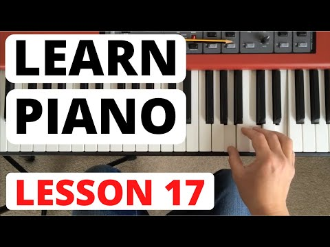 Piano for Beginners, Lesson 17 || Learning a blues piece