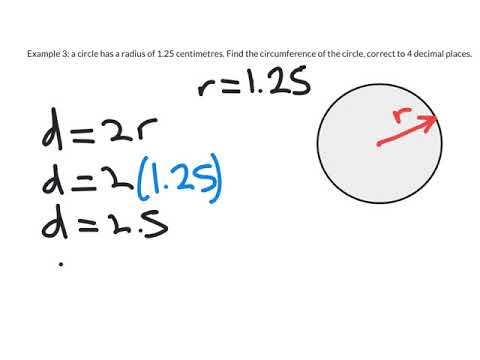 Distances with Circles 2: Finding the Circumference, Using a Given Radius