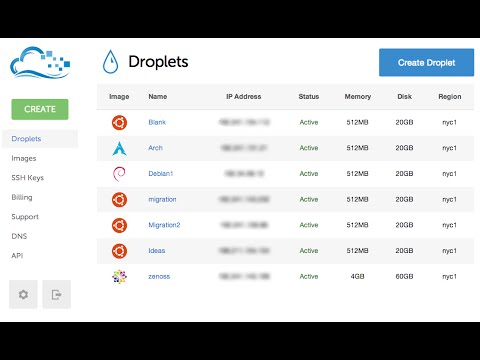 how to create droplet and add ssh key - digitalocean
