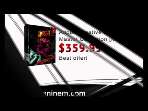 Buy  Cheap Adobe Creative Suite 5.5 Master Collection [MAC]