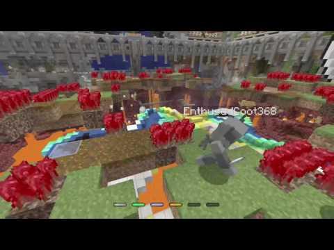 Minecraft: Xbox One Edition Tumble minigame (snowballs)
