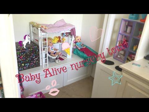 Baby Alive nursery tour!