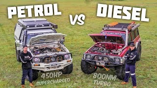BUILT NOT BOUGHT || Petrol Vs. Diesel