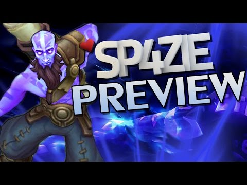 ♥ RYZE - Champion Preview - Sp4zie
