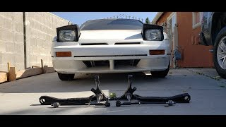S13 Techno Toy Tuning FLCA Install | Caged 240sx Drift Build Gets Angle