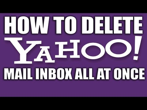 How to Delete Yahoo Mail Inbox All at Once 2015 - Yahoo Email Services