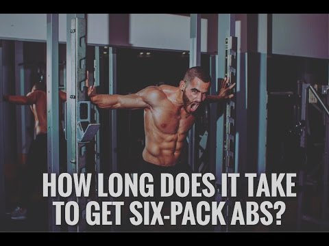 How Long Does It Take to Get Six-Pack Abs?