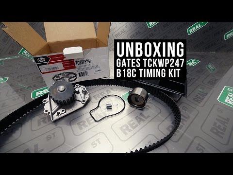 Unboxing Gates B18C Timing Belt Kit TCKWP247 - Real Street Performance