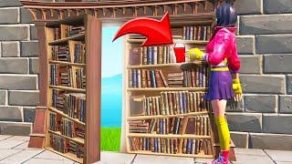 FIND The *SECRET* LEVER To ESCAPE! (Fortnite Escape Room)