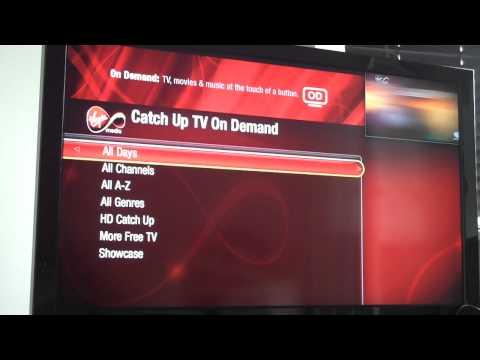 Virgin Media TV Powered by TiVo