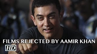Films that Aamir Khan rejected for Salman & SRK | Unbelievable Fact