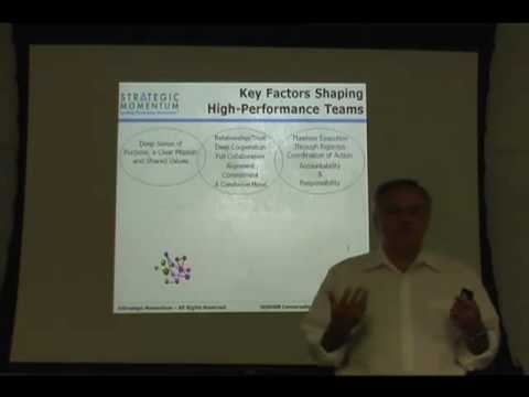 Factors Shaping High Performance Teams