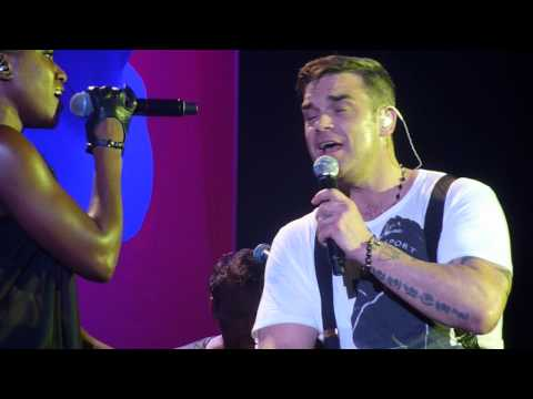 Robbie Williams - Losers @ O2 Arena, Dublin - 14 sept 2012 (new song)