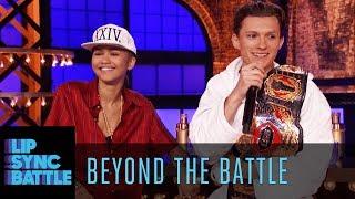 Zendaya Tom Holland Go Beyond The Battle Lip Sync Battle
