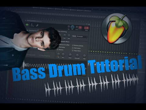 FL Studio 12 - How to make and sample a Bass drum like Martin Garrix, Dimitri Vegas, etc. [Tutorial]