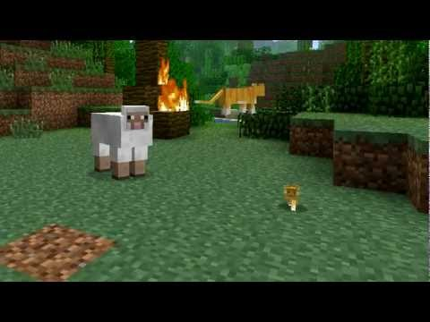 Minecraft 1.2 update: jungle mob (ocelot), fire charge, improved mob AI, desert structures + more