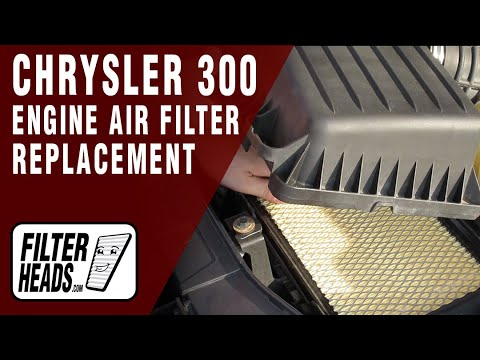 How to Replace Engine Air Filter 2005-2010 Chrysler 300 V6 3.5L