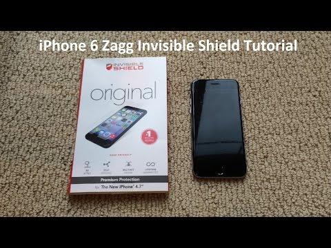 Tutorial: iPhone 6 Zagg Invisible Shield