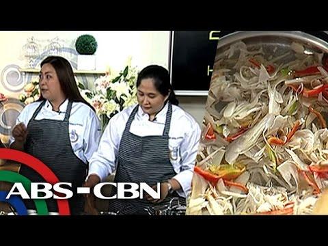 Recipe: Ginataang Langka with Inihaw na Baboy