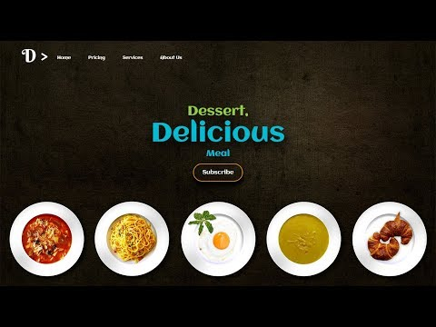 How to Create Homepage in HTML and CSS
