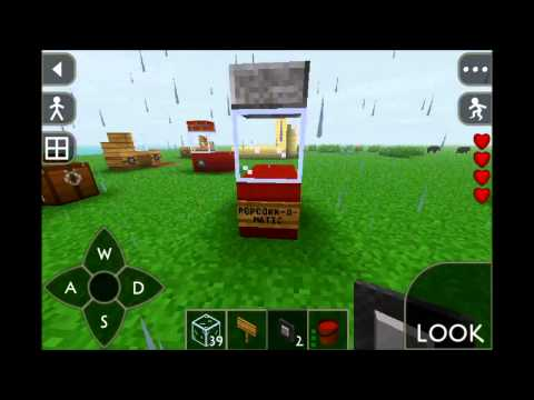 SurvivalCraft: How to Make a PopCorn Machine
