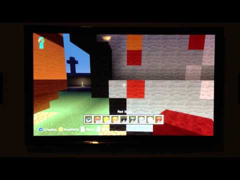 Minecraft:How To Make A Lava Bucket Statue