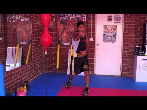 Pradeep's boxing trainng video in Hindi for Indian boxers