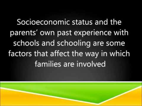 Parental involvement in schools presentation