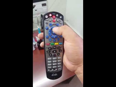Programación de control remoto de Dish con la tv