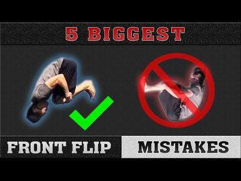 5 Biggest Front Flip Mistakes | Perfect Your Front Flip!