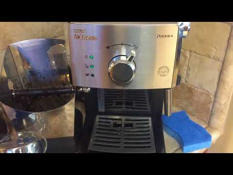 Saeco Philips Poemia coffee machine review 3 years of use.