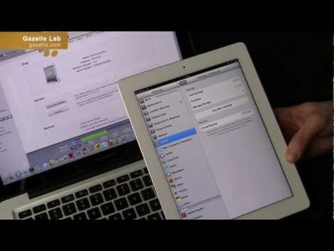 How To Back Up Data & Restore Your iPad With iCloud & iTunes - Tutorial by Gazelle.com