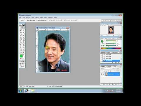 Photoshop Tutorial-how to cut Puzzle Size of any Photo