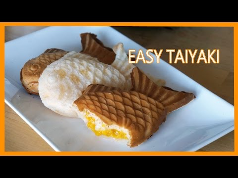 Easy Taiyaki w/ Mango-Lime Filling