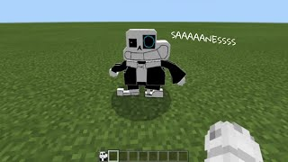 SANES in Minecraft Pe | Sr Pelo Addon Para Minecraft Pe | Underpants
