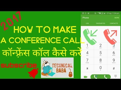 How to make a conference call? How to merge calls? Easy steps